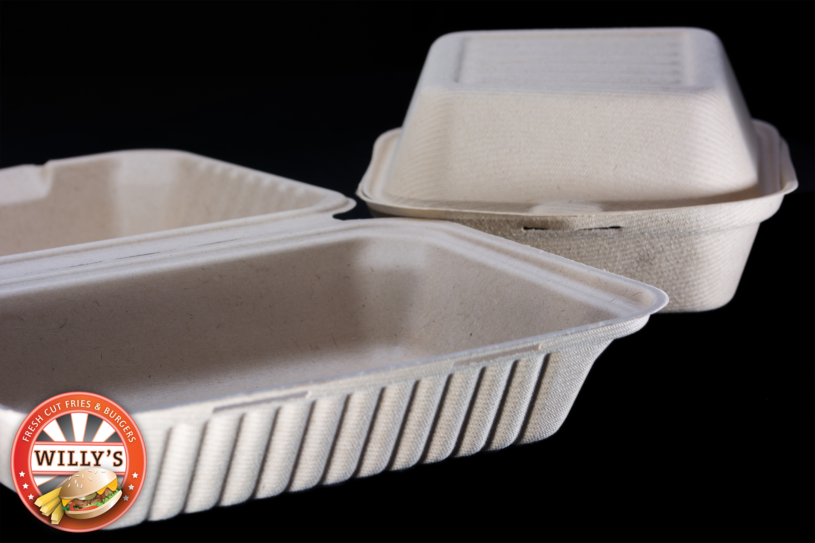 Willy's Gets Biodegradable Containers