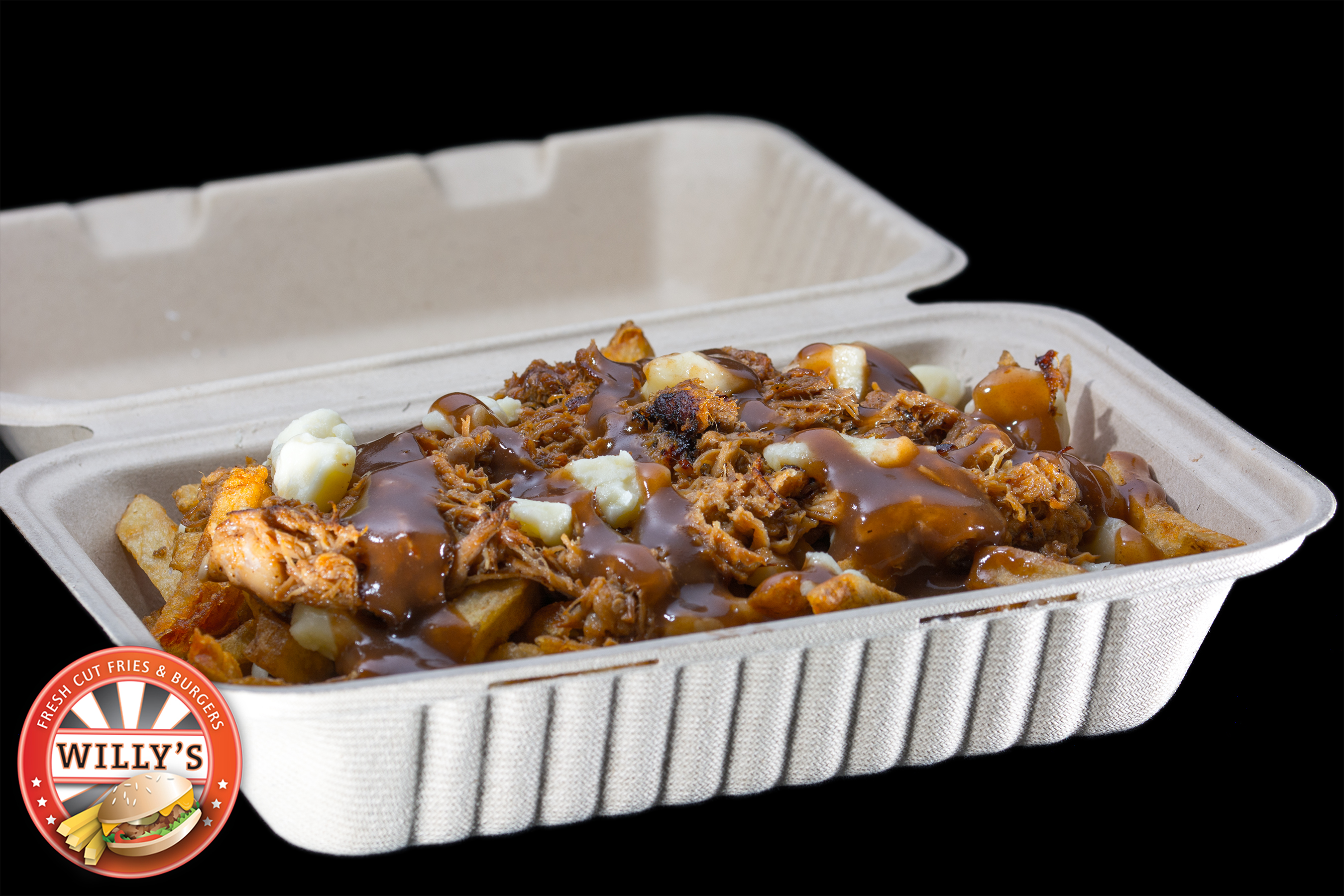Regular sized Pulled Pork Poutine