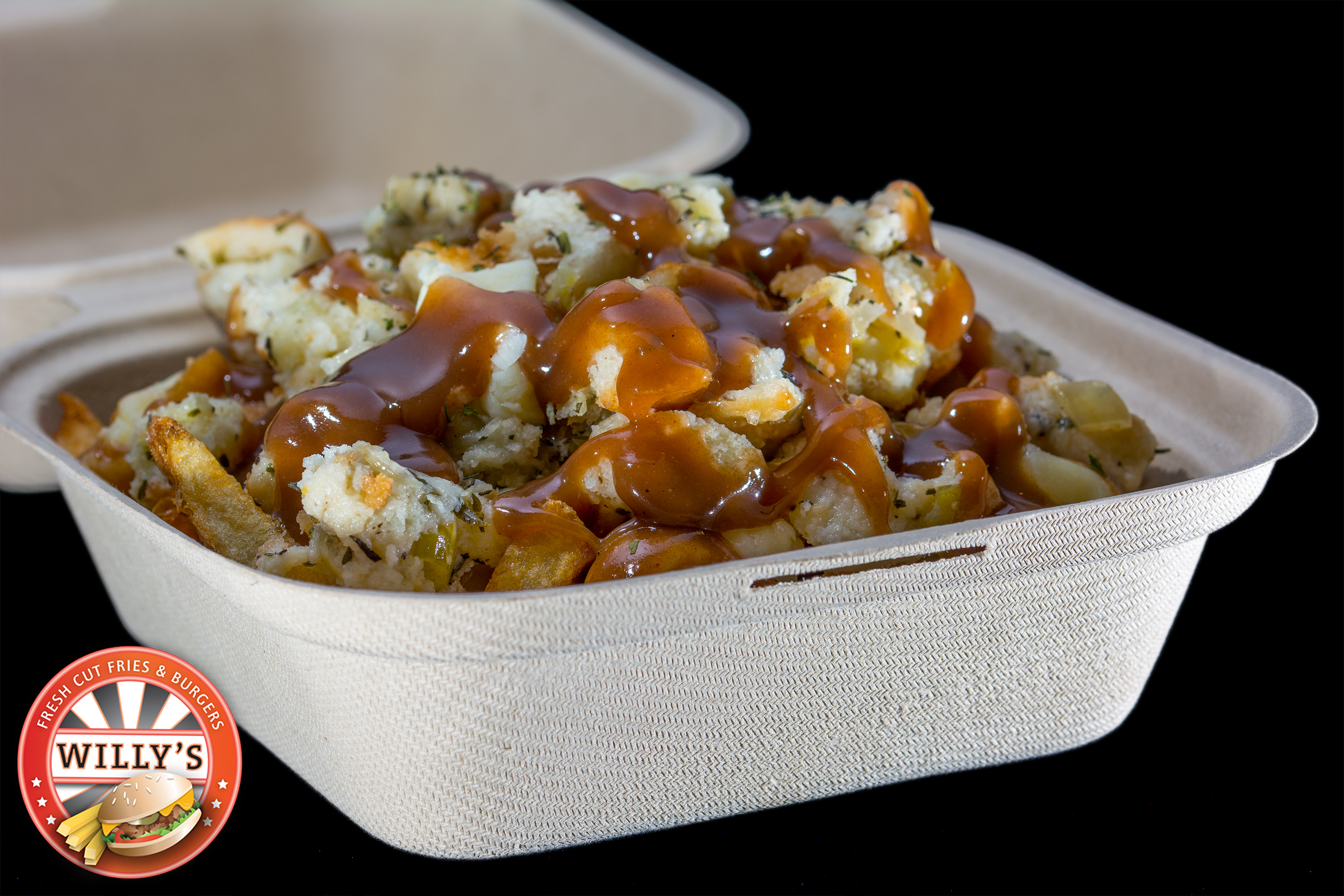 Regular sized Stuffing Poutine